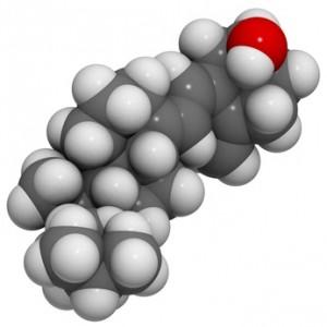Molekül Vitamin D3 (cholecalciferol)