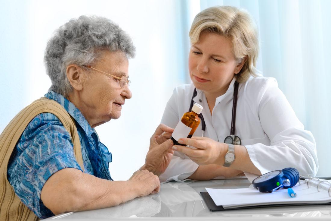Arzt Patient zum D3 Mangel